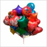 Фольгированные шары с гелием