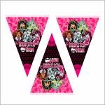 Гирлянды Растяжки Плакаты Monster High