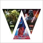 Гирлянды Плакаты Звездные войны Супергерой