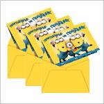 Открытки, конверты для денег Миньоны