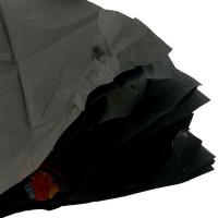 Бумага упаковочная тишью Черная / листы 50*50 см  (10 шт.)