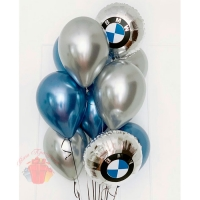 Набор шаров «I love BMW»