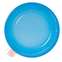 Тарелки (9''/23 см) Голубой, Градиент, 6 шт.