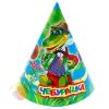 Карнавальный колпак Чебурашка набор 6 штук