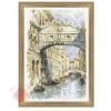 Набор для вышивания крестом Венеция. Мост вздохов 26*38 см