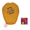 Небесный фонарик Лучшие друзья, цвет желтый 36 см × 96 см × 51 см