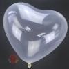"""Воздушные шары Сердце Прозрачный, Кристалл Clear 12""""/30 см  (100 шт.)"""