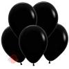 Воздушный Шар Чёрный, Пастель Black Sempertex (12 шт.)