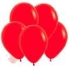 Воздушный Шар Красный, Пастель Red Sempertex (12 шт.)