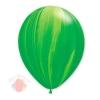 "Воздушный Шар Q 11"" Супер Агат Green (25 шт.)"