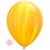 "Воздушный Шар Q 11"" Супер Агат Yellow Orange (25 шт.)"