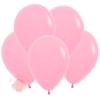 Воздушный Шар Розовый, Пастель Bubble Gum Pink (12 шт.)