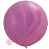 """Воздушный Шар Супер Агат Pink Violet  30"""" / 76 СМ"""